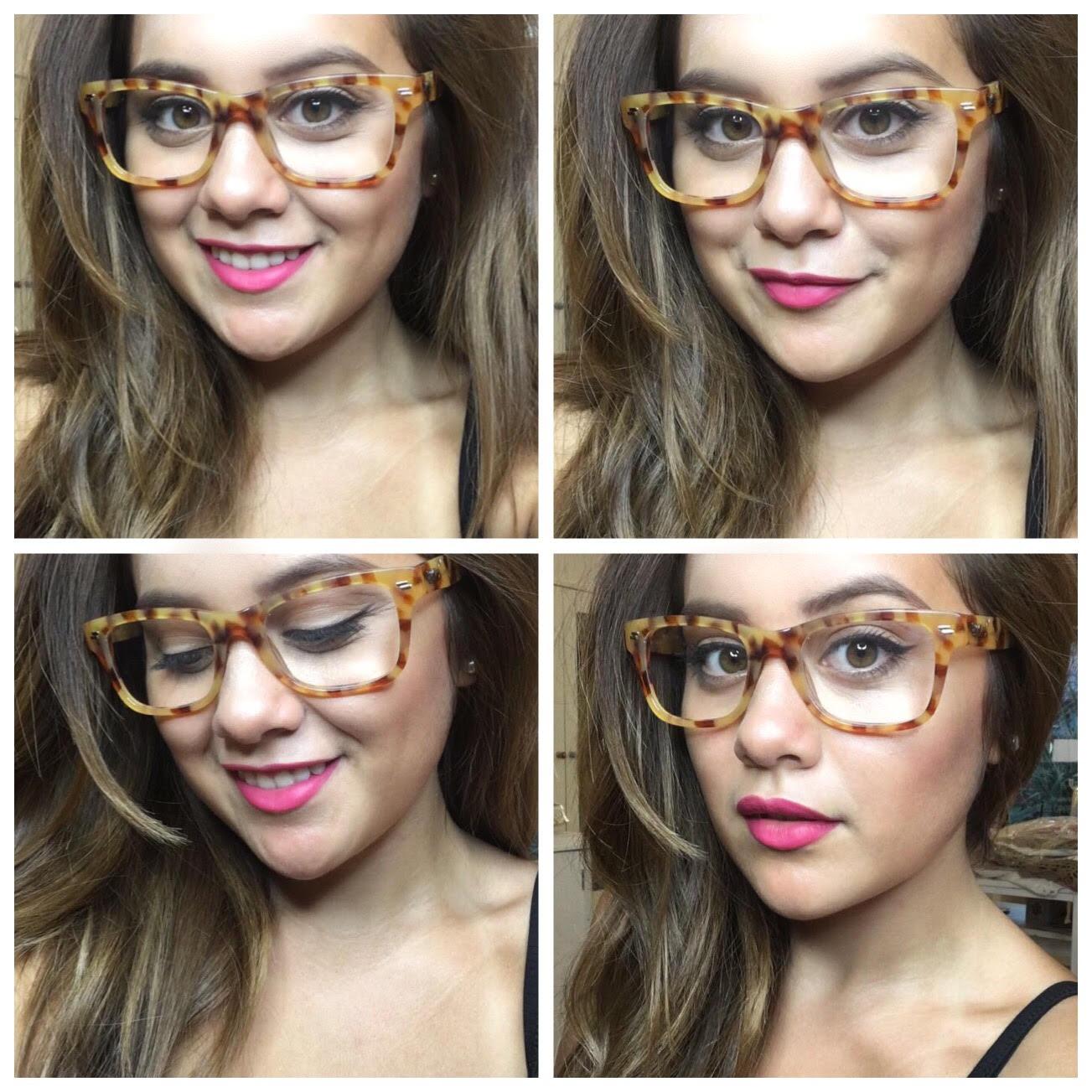 7441688b0c75c 5 Trucos de maquillaje que deben aprender las chicas que usan lentes ...